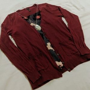 Maurices Button Front Cardigan